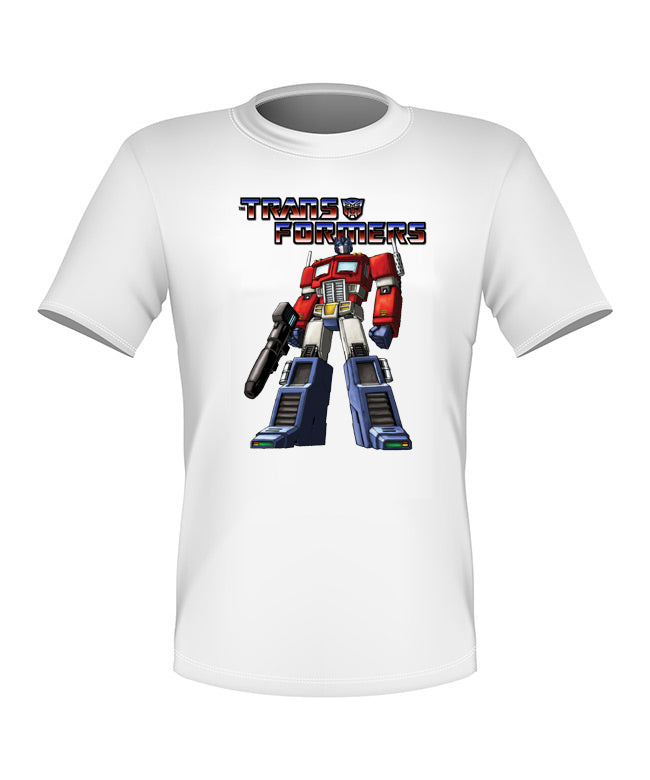 Brand New Fun Custom Transformers T-shirt Optimus Prime All Sizes Nice! #3