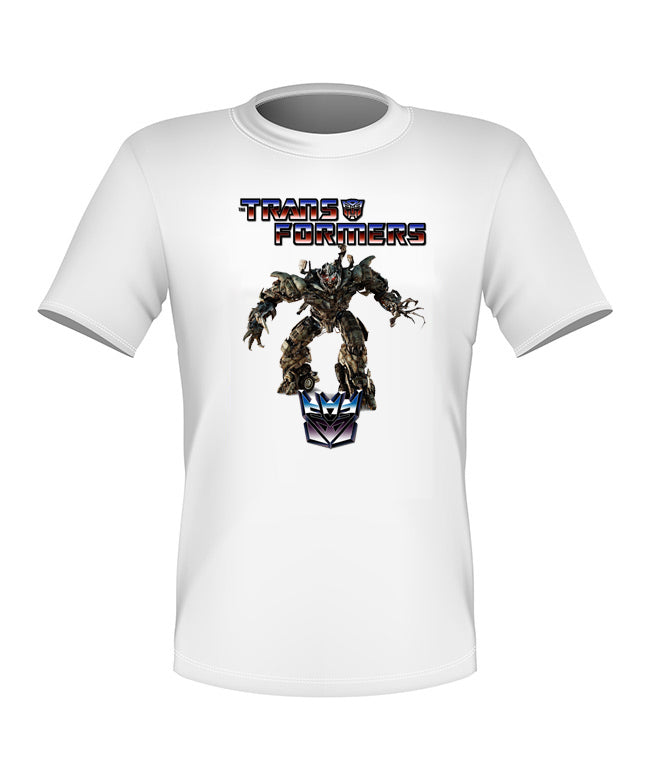 Brand New Fun Custom Transformers T-shirt Megatron All Sizes Nice!