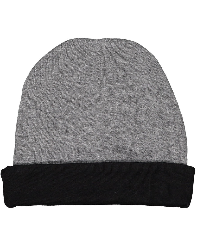 Very Soft Baby Rib Cap Granite Hth/ Blk