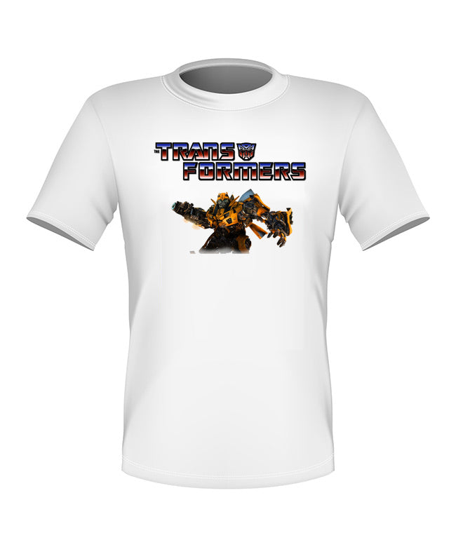 Brand New Fun Custom Transformers T-shirt Bumblebee All Sizes Nice! #2