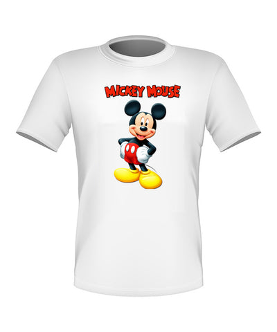 Brand New Fun Custom Disney T-shir Mickey Mouse All Sizes Nice!