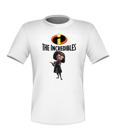 Brand New Fun Custom Disney The Incredibles T-shir Edna Mode All Sizes Nice!