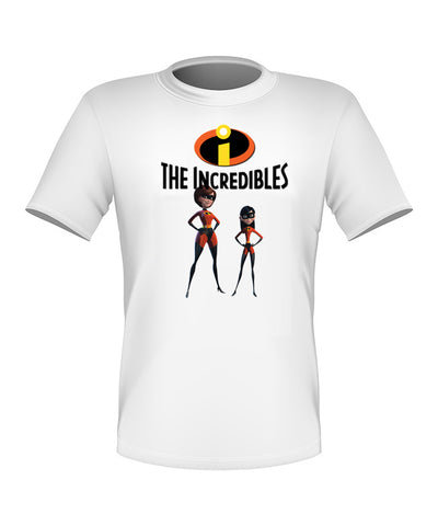 Brand New Fun Custom Disney The Incredibles T-shir Violet Elastigirl All Sizes Nice!