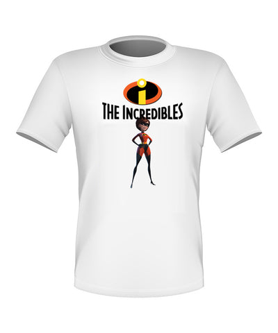 Brand New Fun Custom Disney The Incredibles T-shirt Elastigirl All Sizes Nice!