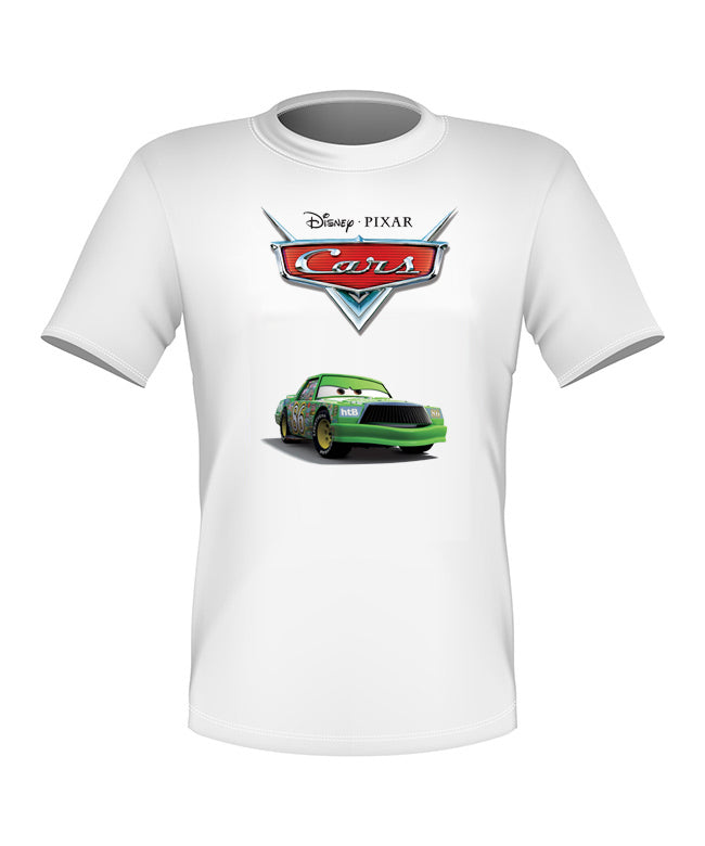 Brand New Fun Custom Disney Cars Movie T-shirt Chick Hicks All Sizes Nice!