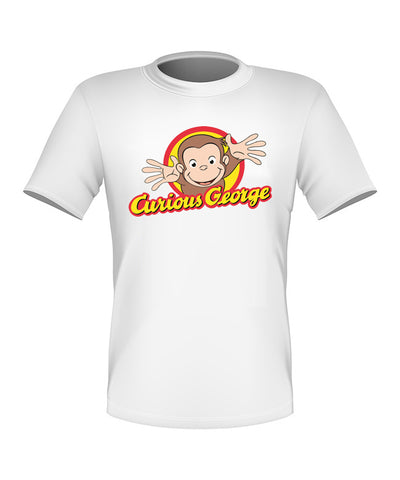 Brand New Fun Custom Curious George T-shirt All Sizes Nice!