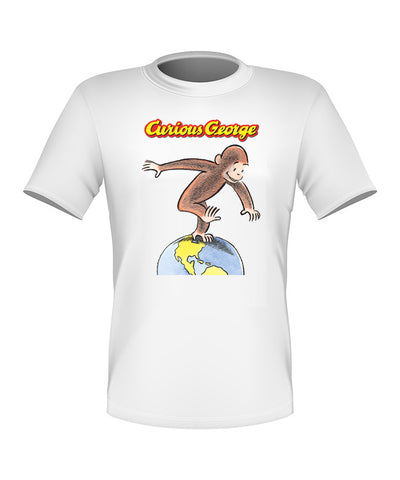 Brand New Fun Custom Curious George T-shirt All Sizes Nice! #2