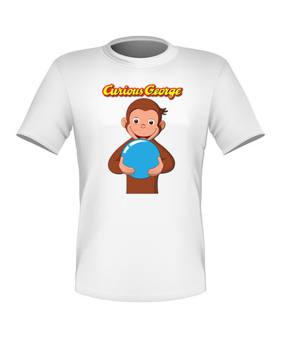 Brand New Fun Custom Curious George T-shirt All Sizes Nice! #3