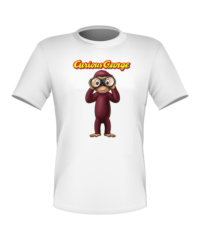 Brand New Fun Custom Curious George T-shirt All Sizes Nice! #4