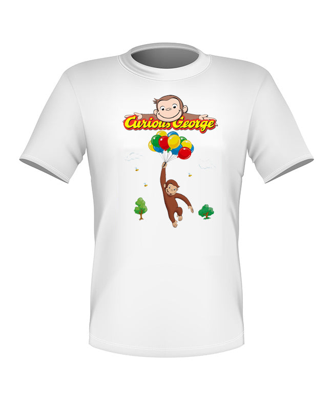 Brand New Fun Custom Curious George T-shirt All Sizes Nice! #5