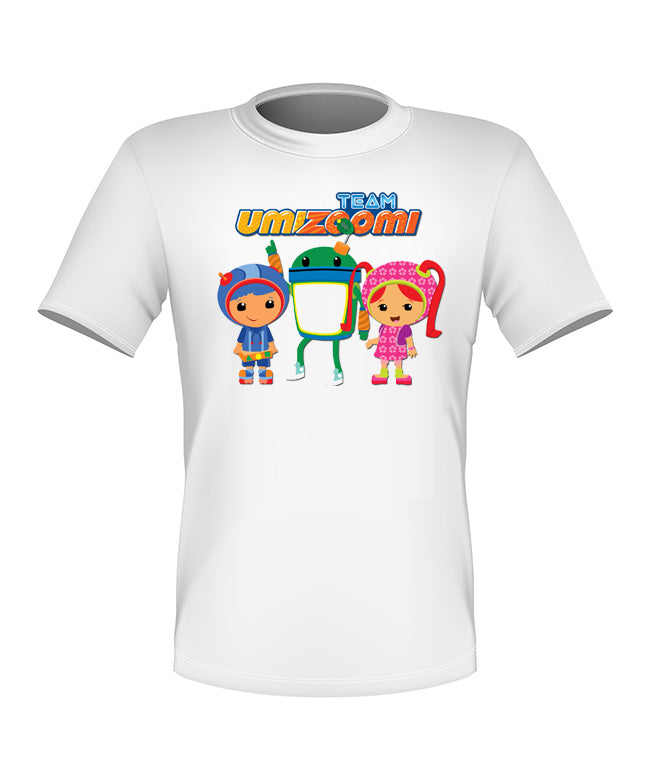 Brand New Fun Custom Team Umizoomi T-shirt All Sizes Nice!