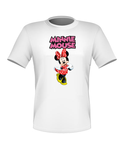 Brand New Fun Custom Disney T-shirt Minnie Mouse All Sizes Nice! #4