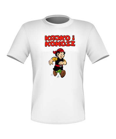 Brand New Fun Custom Kajko i Kokosz T-shirt All Sizes Nice! #2