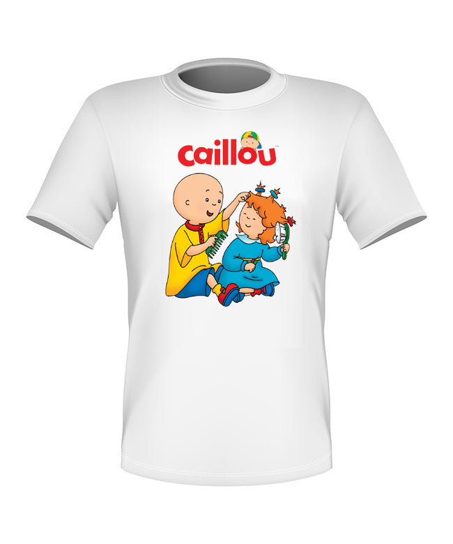 Brand New Fun Custom Caillou T-shirt with Rosie All Sizes Nice!