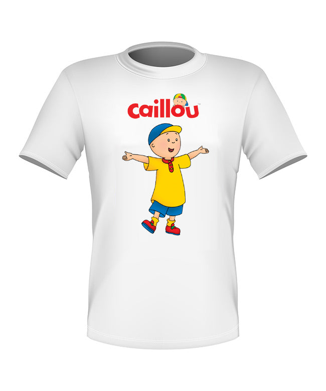 Brand New Fun Custom Caillou T-shirt All Sizes Nice!