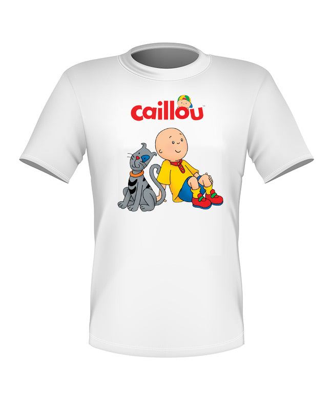 Brand New Fun Custom Caillou T-shirt with Gilbert All Sizes Nice!