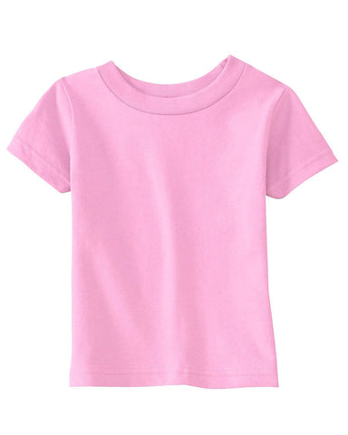 Very Soft Baby Infant Cotton Jersey T-Shirt Pink 100% Cotton