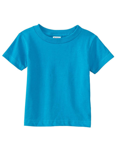 Very Soft Baby Infant Cotton Jersey T-Shirt Turquoise 100% Cotton