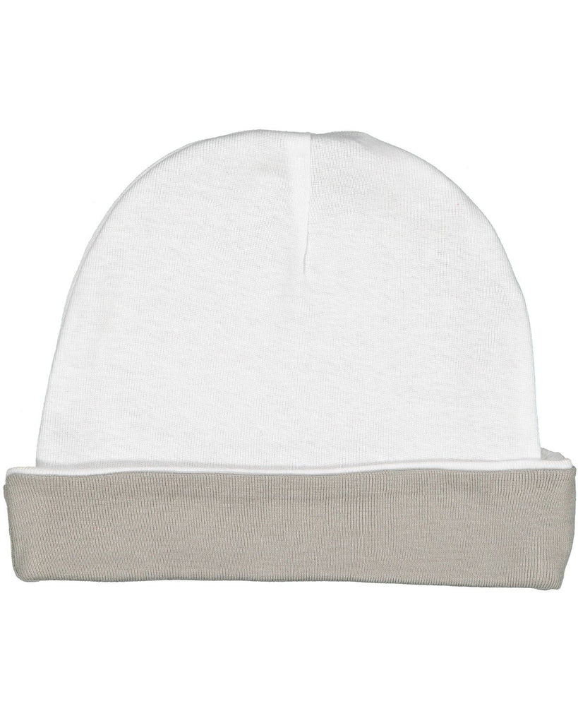 Very Soft Baby Rib Cap White/ Titanium