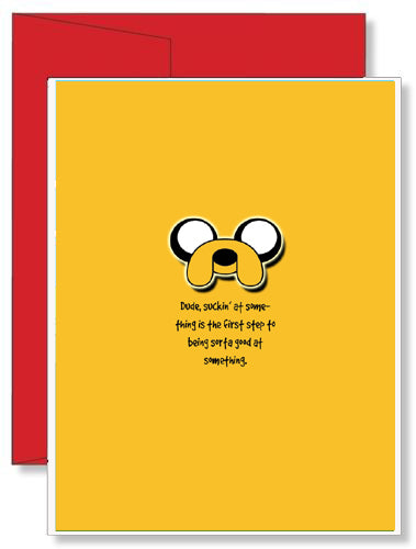 Personalized Birthday Greeting Card Adventure Time #2