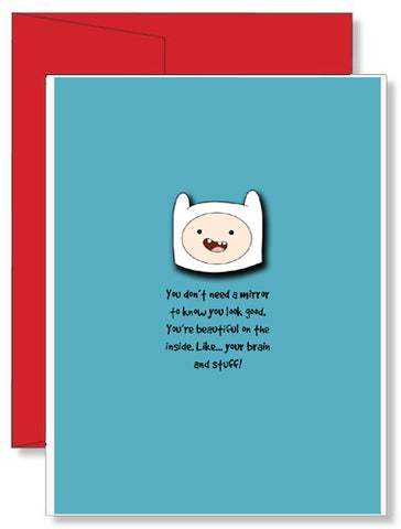 Personalized Birthday Greeting Card Adventure Time #3