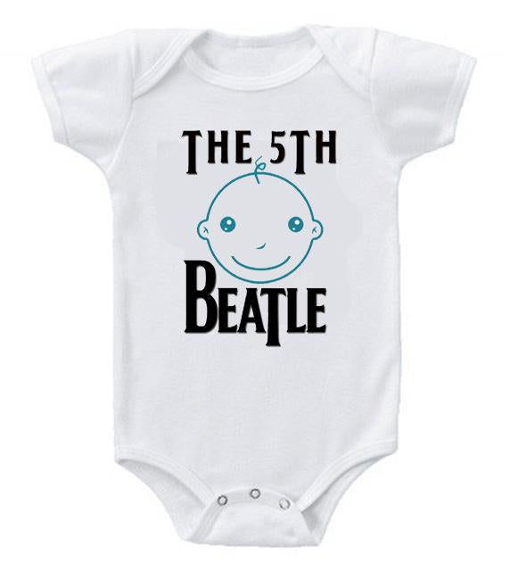 Cute Funny Baby Bodysuits Creeper The 5th Beatle