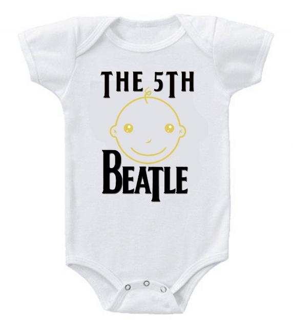 Cute Funny Baby Bodysuits Creeper The 5th Beatle #2
