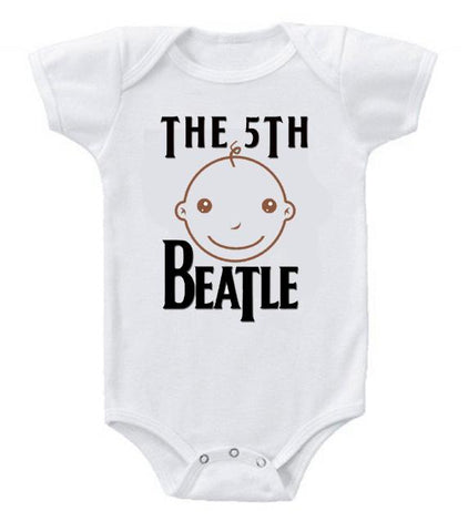 Cute Funny Baby Bodysuits Creeper The 5th Beatle #3