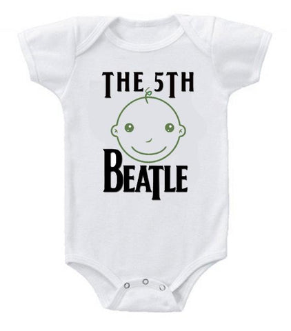 Cute Funny Baby Bodysuits Creeper The 5th Beatle #4