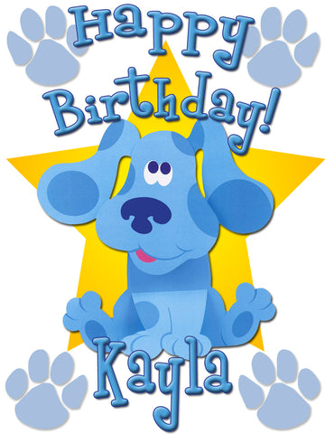 Personalized Blue's Clues Birthday Shirt T-shirt Very Cute!