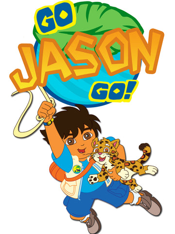 Personalized Go Diego Go T-shirt With Name Tee Shirt NEW Great Gift! #2