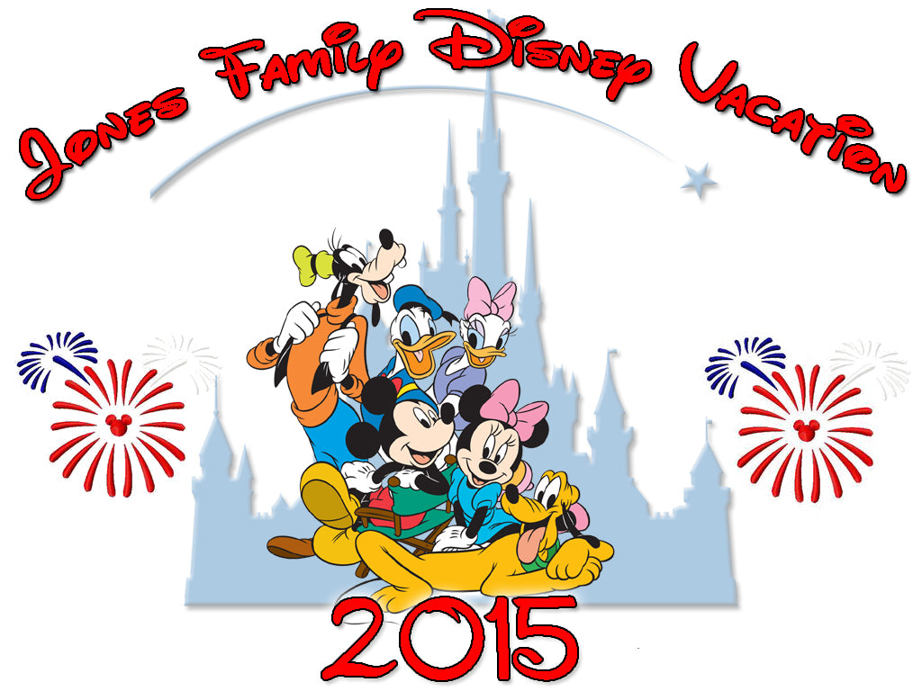 Personalized Disney Vacation Family Shirts T-shirt Mickey Minnie Very Cute! #5