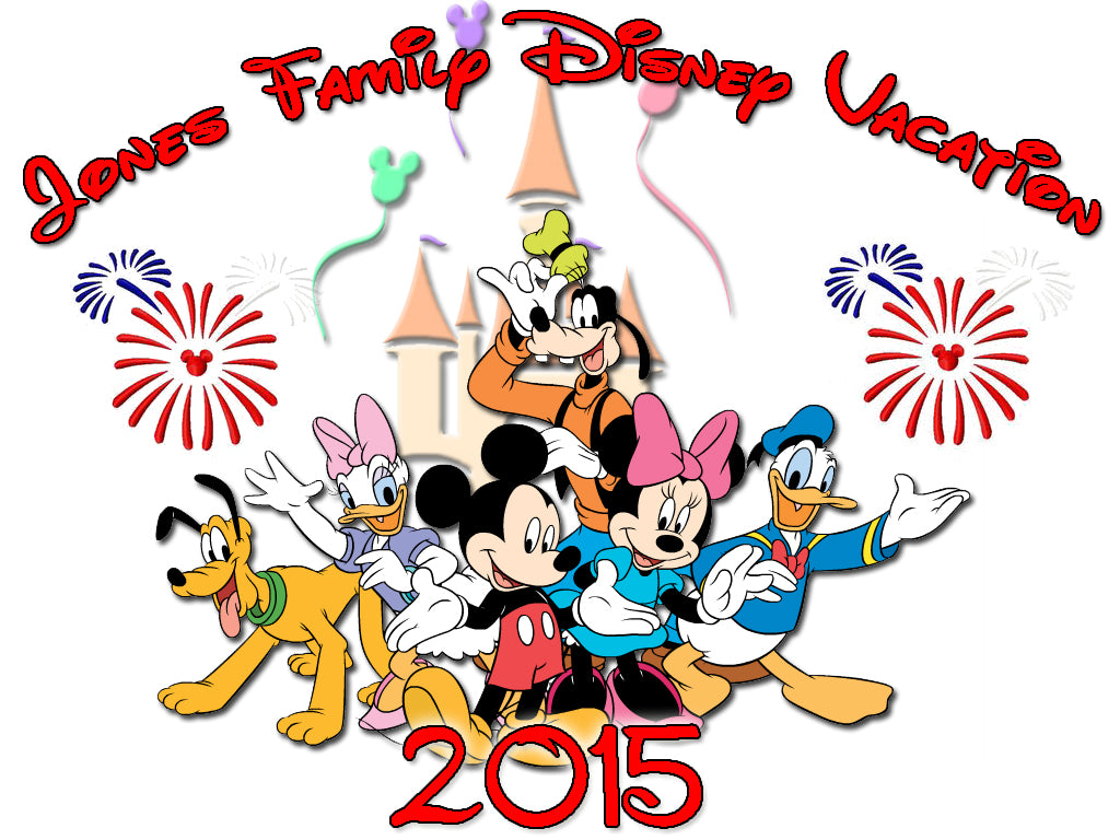 Personalized Disney Vacation Family Shirts T-shirt Mickey Minnie Very Cute!