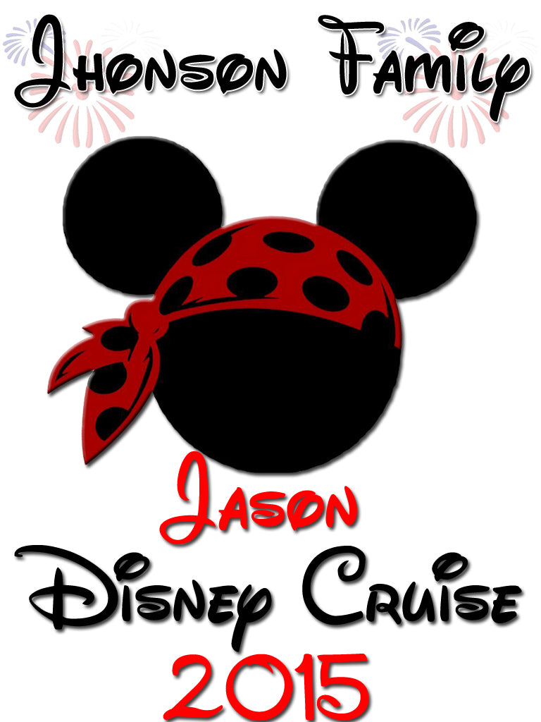 Personalized Family Vacation Disney Cruise Shirts T Shirt Mickey Minnie Cute 6