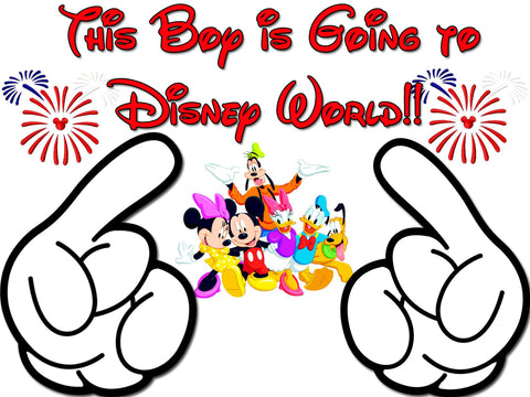 Disney Family Vacation Going To Disney Boy Shirts T-shirt Mickey Minnie Very Cute!