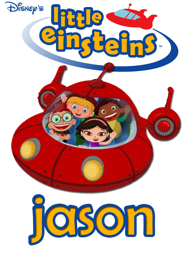 Personalized Disney Little Einsteins T-shirt With Name Tee Shirt NEW Great Gift!