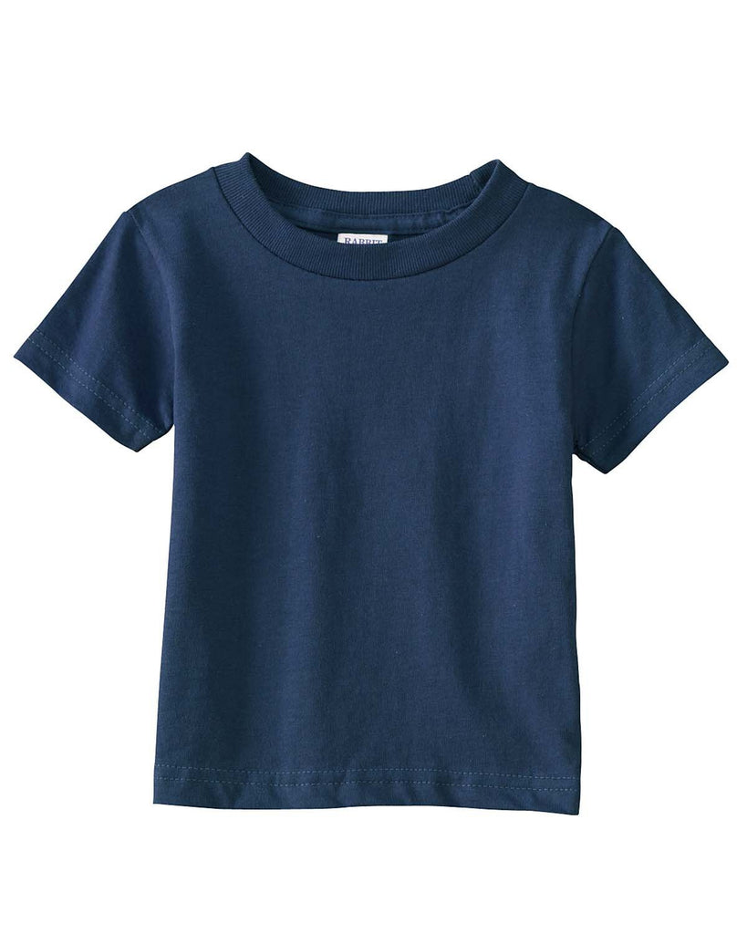 Very Soft Baby Infant Cotton Jersey T-Shirt Navy 100% Cotton