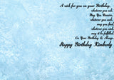 Personalized Birthday Greeting Card Disney Frozen Movie Sisters