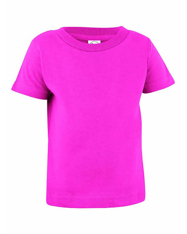 Very Soft Baby Infant Cotton Jersey T-Shirt Hot Pink 100% Cotton