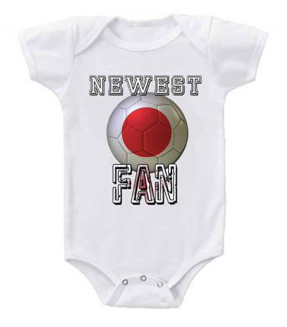 Cute Funny Baby Bodysuits Creeper World Cup Soccer Japan Newest Fan