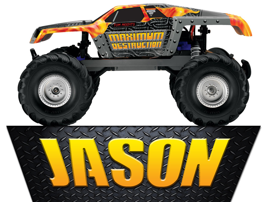 Personalized Monster Truck Max D T-shirt With Name Tee Shirt NEW Great Gift!