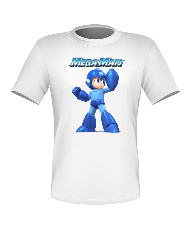 Brand New Fun Custom Megaman Video Game T-shirt All Sizes Nice! #4