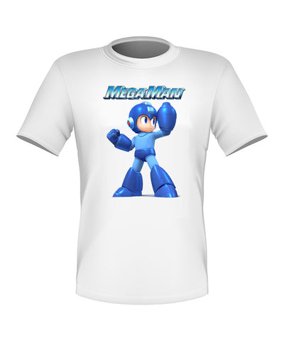 Brand New Custom Megaman Shirt T-shirt Great Gift All Sizes #3