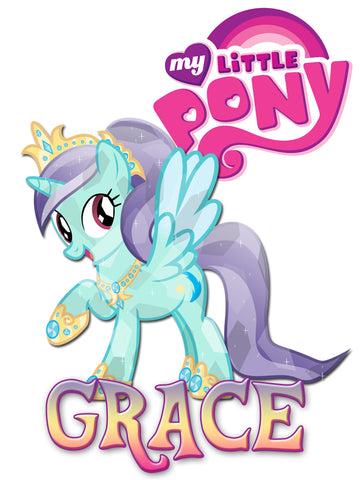 Personalized My LIttle Pony T-shirt With Name Tee Shirt NEW Great Gift! #2