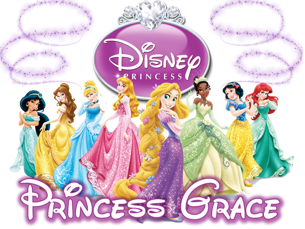 Personalized Disney Princess Everyone T-shirt With Name Tee Shirt NEW Great Gift!