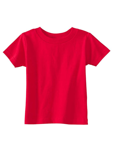Very Soft Baby Infant Cotton Jersey T-Shirt Red 100% Cotton
