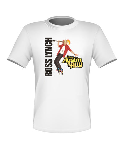Brand New Fun Custom Disney Austin and Ally T-shirt Ross Lynch All Sizes Nice!