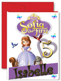 Personalized Birthday Greeting Card Disney Sofia the First