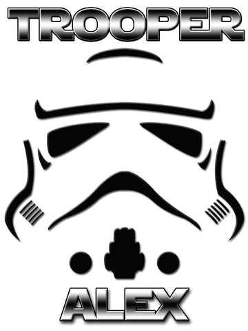 Personalized Star Wars Stormtrooper T-shirt With Name Tee Shirt NEW Great Gift! #2