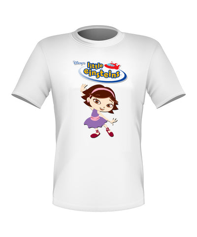 Brand New Fun Custom Disney Little Einsteins T-shirt June All Sizes Nice!